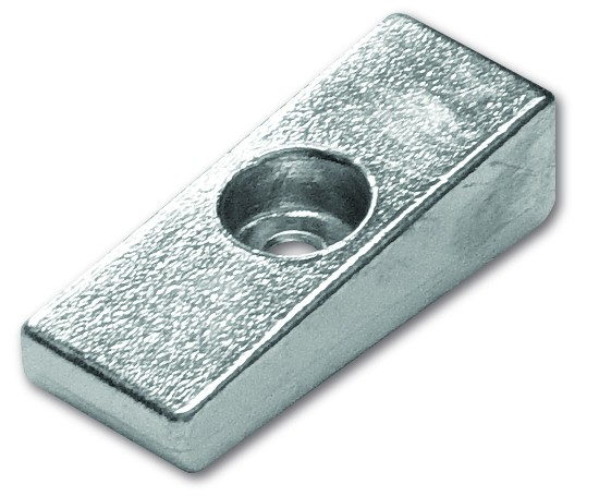 Magnesiumanode Mercury, Platte 77 x 30 x 23 mm