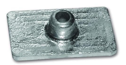 Zinkanode Mercury, Platte, 4,5-7,5, 9,8+9HD