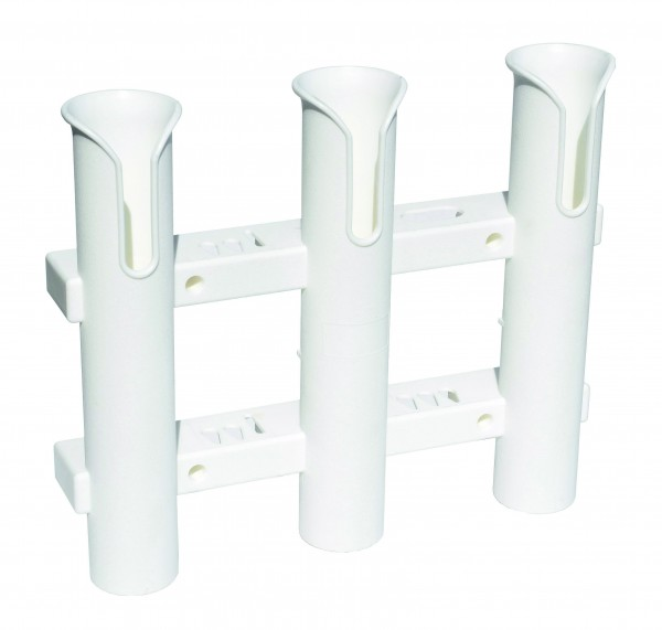 Fishing rod holder for 3 rods