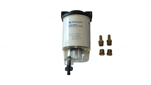 Fuelfilter with waterseparator