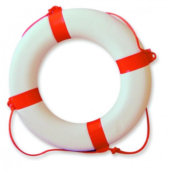 Lifebuoy red / white 610 mm