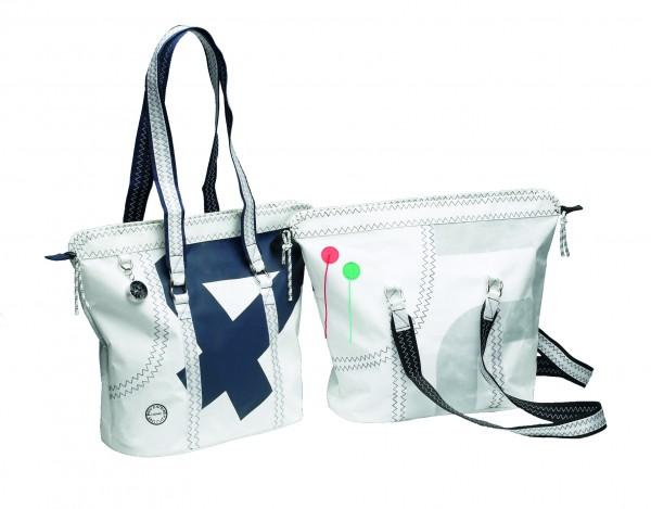 Sea Queen Einkaufstasche mit Reißverschluss