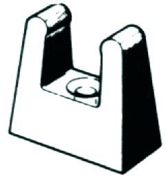 Opti clip for tiller extension