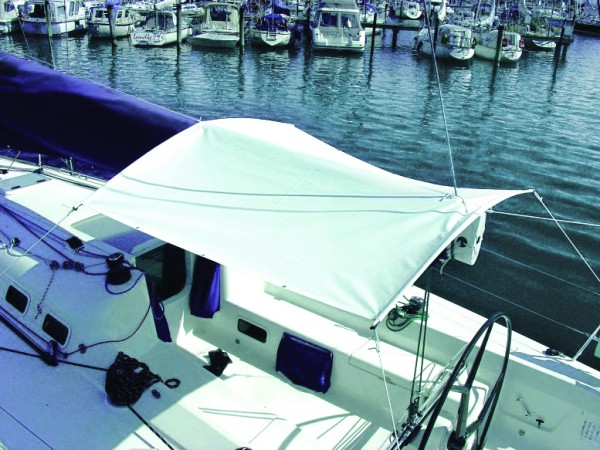 SunCoverSail With EasyConnect Frame