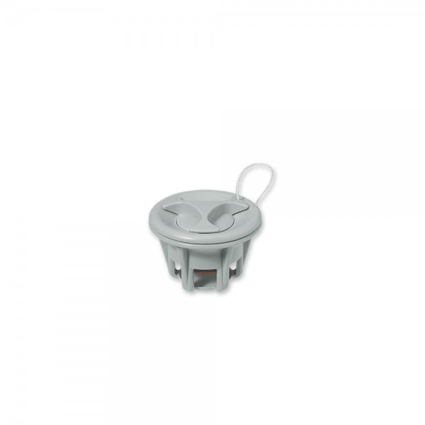 Inflatable air valve with cap