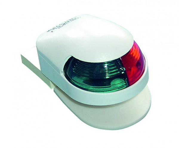 navigation light, plastic white
