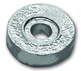Magnesiumanode Mercury rund, 2,5-3,3 PS 7 x Ø 24 mm