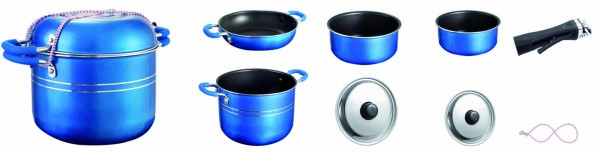 cookware set 7 pieces