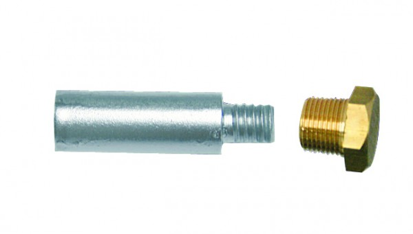 Zincanode Yanmar, plug 30 x Ø 12,5 mm