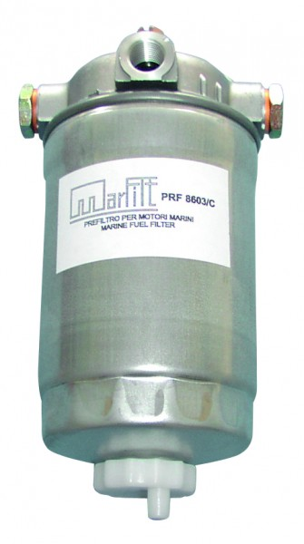 Fuelfilter with separator 200 x 113 x 91 mm