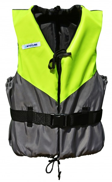 Navyline buoyancy aid 50 N UV-yellow/darkgrey