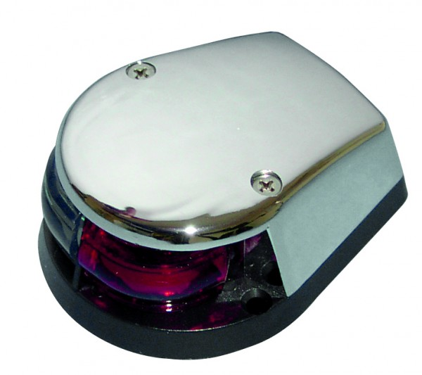 Navigation light red/green chromed