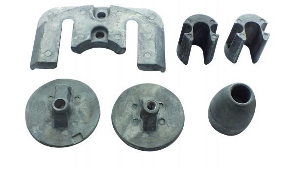 Aluminium Anodenkit Bravo 1