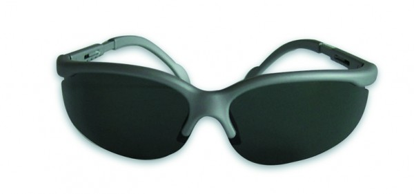 Sunglass, frame grey, polarizing glas