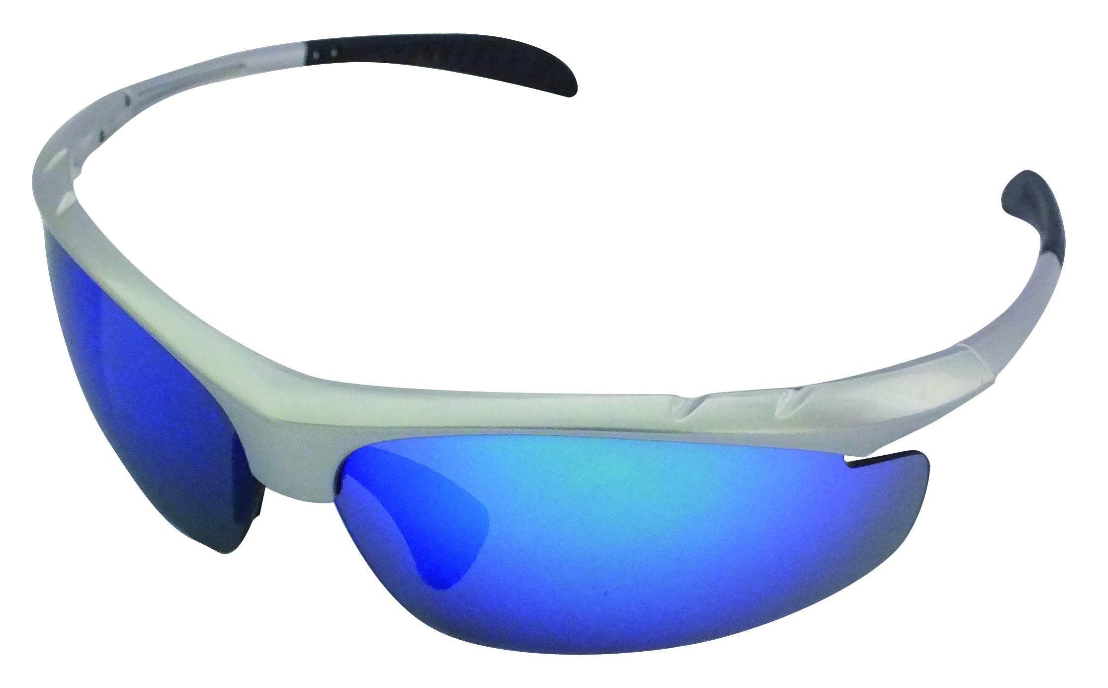 sonnenbrille grau mit blauen gl sern sonnenbrillen. Black Bedroom Furniture Sets. Home Design Ideas