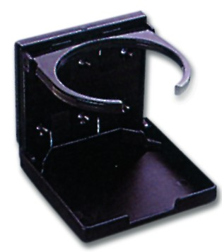 Folding drink holder