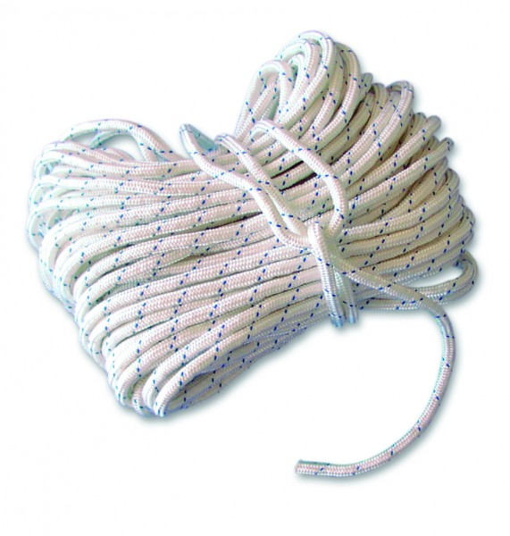Rope with thimble