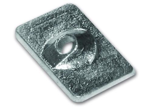 Magnesiumanode Mercury, Platte, 6,8,9,9,15