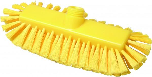 Ovale Waschbürste gelb