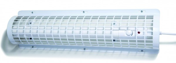 Protection guard for tube heater