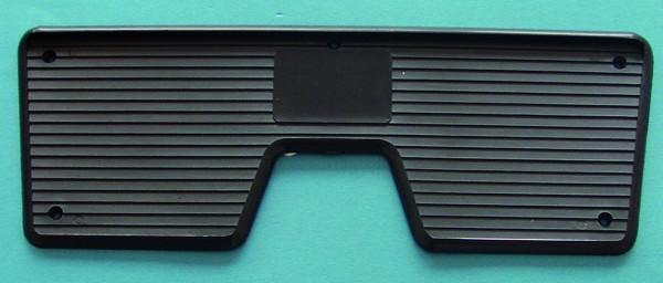 Rear protection plate