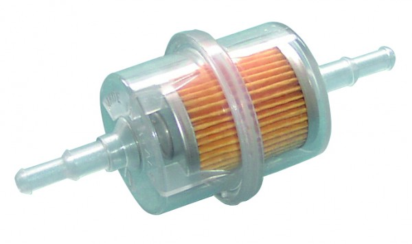 Inline fuel filter small