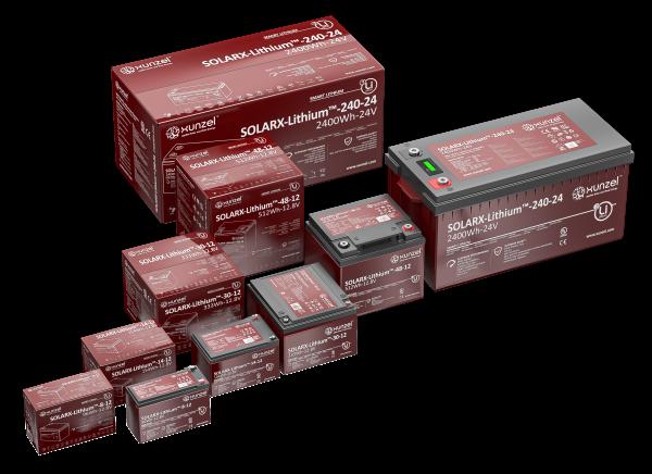 Lithium-Verbraucherbatterie
