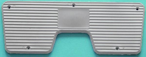 Heckschutzplatte für Aussenborder