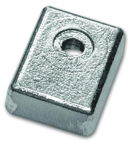 Magnesiumanode Suzuki, Platte 65-115 PS 40 x 30 x 12 mm