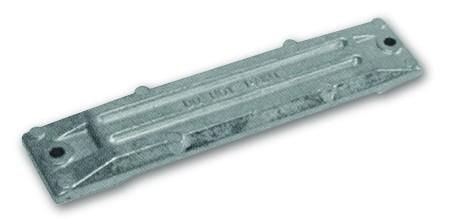 Magnesiumanode Honda, gr. Platte 225 x 50 x 15 mm