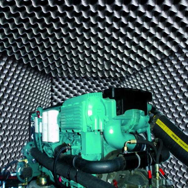 Schallschutz für Motoren 60 mm 1 x 1 m