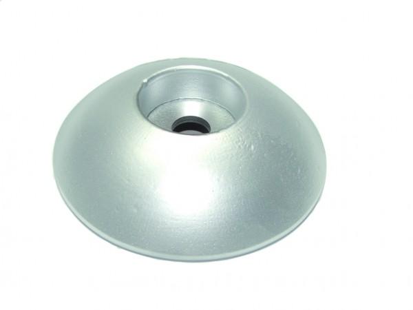 Zinkanode rund, M 10, Ø 110 mm