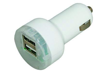 12 Volt Stecker mit 2 USB Buchsen