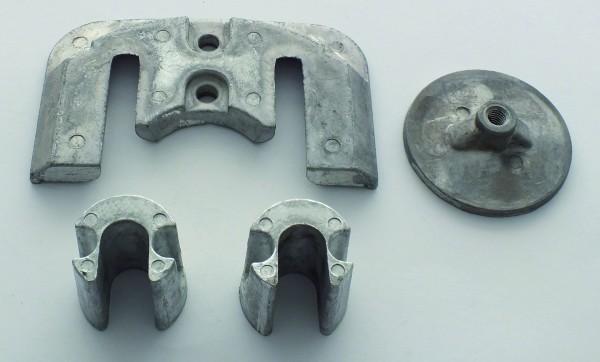 Aluminium anodekit Bravo 2 & 3