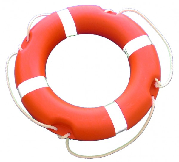 Lifebuoy orange Ø 350 x 600 mm