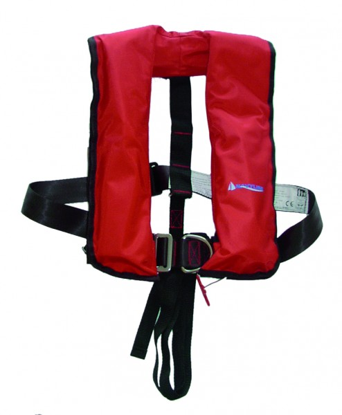 Navyline automatic lifevest 275 N red with harness