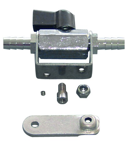Fuel faucet with remote control
