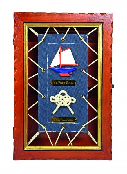 Key box with sailcloth