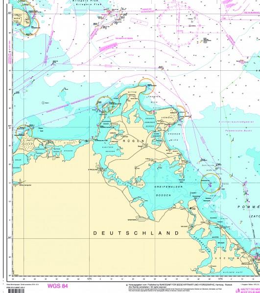 Seekarten Tischset