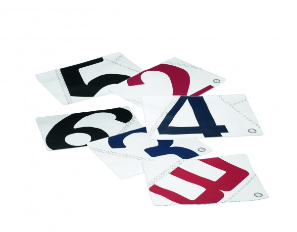Table mat, set of 4 colors