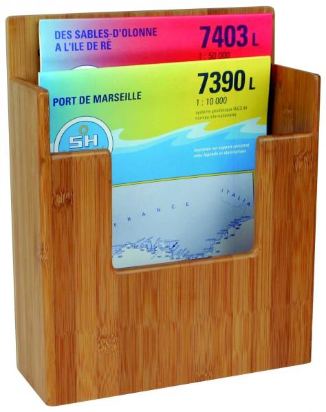 Bambus Karten-/Zeitschriften Halter