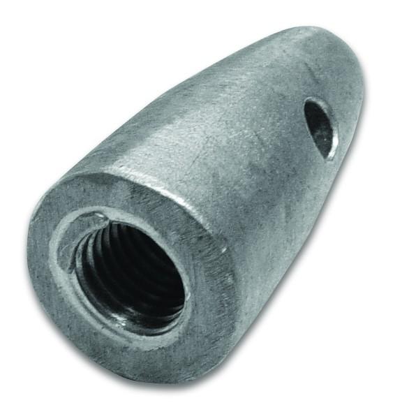 Zincanode Volvo, shaft 35 mm