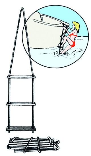 Rettungsleiter 5 Stufen