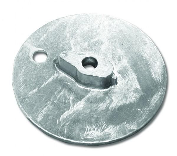 Magnesiumanode Mercruiser, 63 x 63 x 9 mm