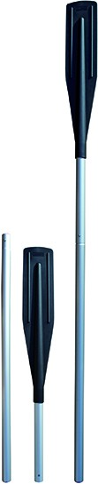 Profi Ruder 2-teilig 1,8 m