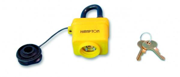 Waterproof padlock