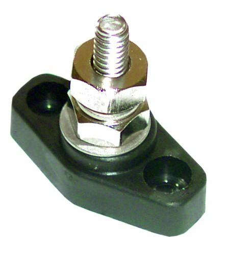 Stromkreisverteilersockel, Bolzen-Ø 8 mm