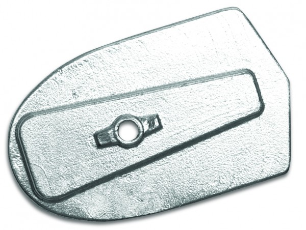 Magnesiumanode Yamaha, Platte 6C, 6D, 8C 97 x 60 x 13 mm