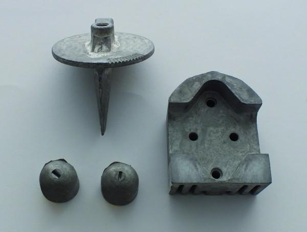 Aluminium anodekit Alpha 1 Gen. 1