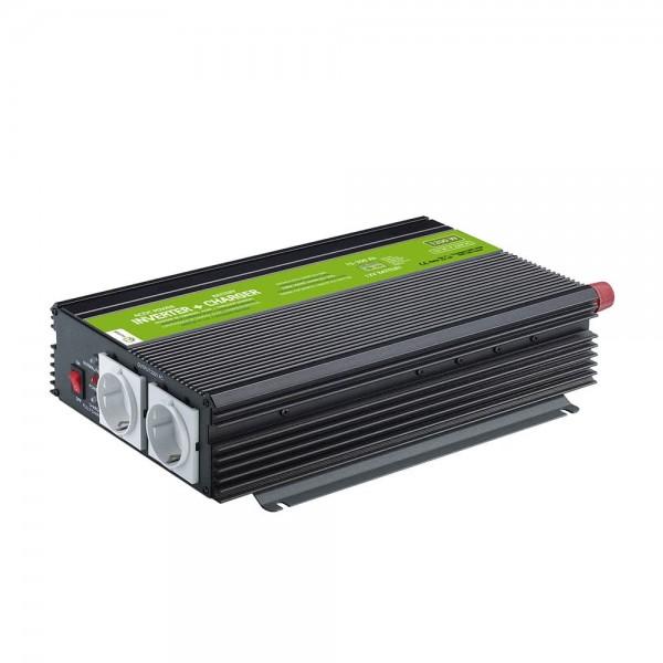 Spannungswandler / Ladegerät MJC 1200W-12v-230V-10A